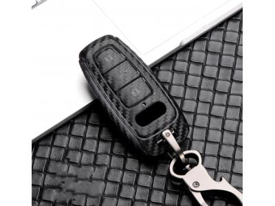 Карбонова кутийка-ключодържател за безконтактен автомобилен ключ AUDI