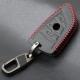 Кожено защитно калъфче за BMW с 3 Бутона, подходящо за автомобилни ключове BMW X1 X5 X6 F15 F16 F48