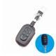 Кожено защитно калъфче за RENAULT и DACIA с 3 Бутона, подходящо за автомобилни ключове Renault Duster Logan Sandero Captur Clio Laguna Scenic 2016 2017