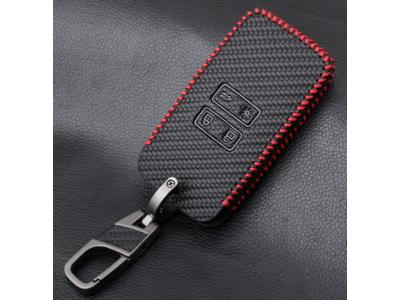 Кожено калъфче-ключодържател автомобилен ключ Dacia-Renault