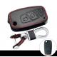 Кожено защитно калъфче за FIAT с 3 Бутона, подходящо за автомобилни ключове Fiat Panda Stilo Punto Doblo Grande Bravo 500 Ducato Minibus