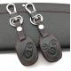 Кожено защитно калъфче за Honda с 2 Бутона, подходящо за автомобилни ключове Honda CR-V Civic