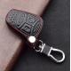 Кожено защитно калъфче за JEEP с 4 Бутона, подходящо за автомобилни ключове Jeep Commander Grand Cherokee /Chrysler 300 Aspen /Dodge Charger Durango