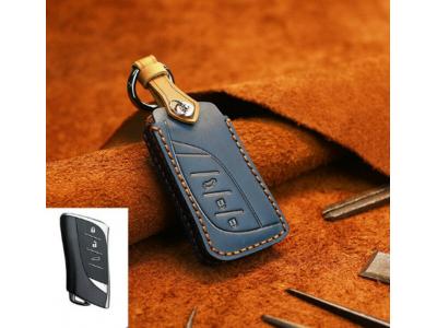 Кожено калъфче ключодържател за автомобилен ключ LEXUS