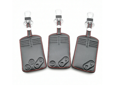 Кожено калъфче-ключодържател за автомобилен ключ Mazda
