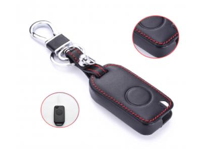 Кожено калъфче-ключодържател за автомобилен ключ MERCEDES-BENZ