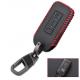Кожено защитно калъфче+ключодържател за автомобилен ключ Mitsubishi
