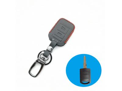 Кожено калъфче-ключодържател автомобилен ключ Opel