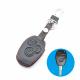 Кожено защитно калъфче за DACIA с 3 Бутона, подходящо за автомобилни ключове Renault Clio Scenery Megane Duster Sandero Captur Twingo
