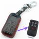 Кожено защитно калъфче за Volvo с 5 Бутона, подходящо за автомобилни ключове Volvo S60 / S80 / V60 / XC60 / XC70 / S60L / V40