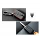 Кожено защитно калъфче за Citroen и Peugeot с 2 Бутона, подходящо за автомобилни ключове Peugeot и Citroen